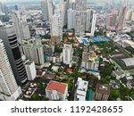 bangkok metropolis  aerial view ... | Shutterstock . vector #1192428655