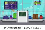 vector illustration  airport... | Shutterstock .eps vector #1192441618