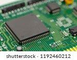 a close up of a computer... | Shutterstock . vector #1192460212
