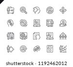 simple set of business... | Shutterstock .eps vector #1192462012