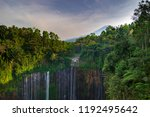 majestic view of tumpak sewu... | Shutterstock . vector #1192495642