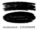 vector hand drawn ink brush... | Shutterstock .eps vector #1192496098