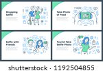 line illustrations of taking... | Shutterstock .eps vector #1192504855