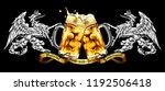 design beer advertising in... | Shutterstock .eps vector #1192506418