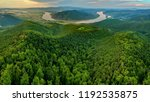 bend of danube river in... | Shutterstock . vector #1192535875