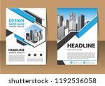 brochure template layout  cover ... | Shutterstock .eps vector #1192536058