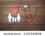 health care and insurance... | Shutterstock . vector #1192540858
