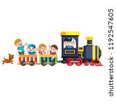 vector illustration of the... | Shutterstock .eps vector #1192547605