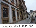 prague building and street ... | Shutterstock . vector #1192551688