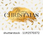 merry christmas and happy new... | Shutterstock .eps vector #1192570372