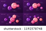 vector colorful templates for... | Shutterstock .eps vector #1192578748