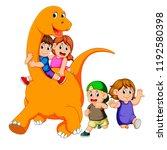 vector illustration of the... | Shutterstock .eps vector #1192580398