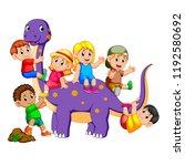 vector illustration of the... | Shutterstock .eps vector #1192580692