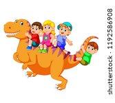 vector illustration of the... | Shutterstock .eps vector #1192586908