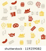 german seamless pattern | Shutterstock . vector #119259082