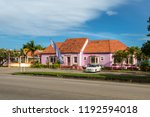 bridgetown  barbados   december ... | Shutterstock . vector #1192594018
