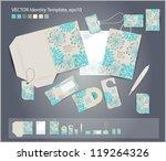 vector corporate design for... | Shutterstock .eps vector #119264326