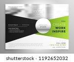 business brochure design in... | Shutterstock .eps vector #1192652032