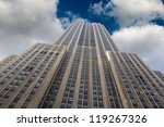 new york   feb 22  the empire... | Shutterstock . vector #119267326