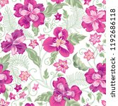 floral seamless pattern. ... | Shutterstock .eps vector #1192686118
