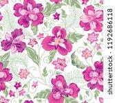 floral seamless pattern. ... | Shutterstock .eps vector #1192686118