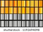 silver gold gradient background ... | Shutterstock .eps vector #1192694098