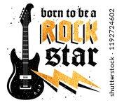 typography slogan for t shirt... | Shutterstock .eps vector #1192724602
