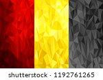 set of polygonal backgrounds...