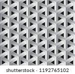 abstract 3d seamless geometric... | Shutterstock .eps vector #1192765102