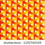 abstract 3d seamless geometric... | Shutterstock .eps vector #1192765105