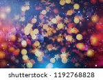 festive background with natural ... | Shutterstock . vector #1192768828