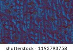 modern pattern with crowd of... | Shutterstock . vector #1192793758