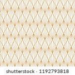 vector geometric art deco style ...   Shutterstock .eps vector #1192793818