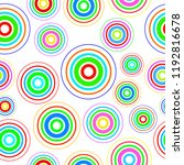 seamless pattern colourful... | Shutterstock .eps vector #1192816678