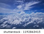 scenic of cloudscape with blue... | Shutterstock . vector #1192863415