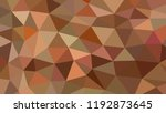 abstract vector geometric... | Shutterstock .eps vector #1192873645