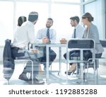 hrough the glass.the business... | Shutterstock . vector #1192885288