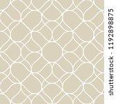vector golden seamless pattern... | Shutterstock .eps vector #1192898875