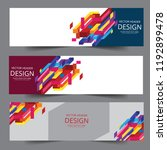 abstract corporate business... | Shutterstock .eps vector #1192899478