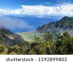 Misty Mountains In Kauai Hawaii