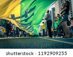 sso paulo  sao paulo   brazil   ... | Shutterstock . vector #1192909255