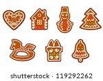 gingerbread christmas objects...