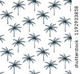 palm pattern background | Shutterstock .eps vector #1192933858