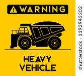 coal mining operation loading... | Shutterstock .eps vector #1192943302