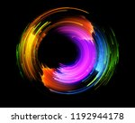 vivid abstract background.... | Shutterstock . vector #1192944178