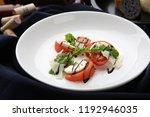 salad on a plate   Shutterstock . vector #1192946035