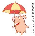 vector illustration of a cute...   Shutterstock .eps vector #1192950052