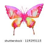 watercolor butterfly | Shutterstock . vector #119295115