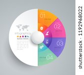 infographics design vector and... | Shutterstock .eps vector #1192968022