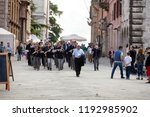 perugia  italy  may 13  2013 ... | Shutterstock . vector #1192985902